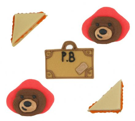 Paddington Bear Sugar Decorations